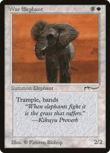 War Elephant (Version 2)
