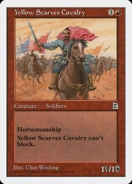 Yellow Scarves Cavalry