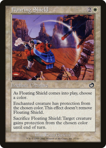 Floating Shield
