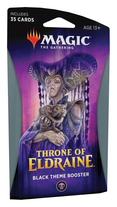 Throne of Eldraine Theme Booster (engl.) - Black