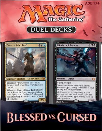 Duel Decks - Blessed vs. Cursed (engl.)