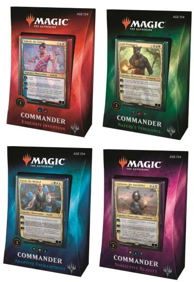 Commander 2018 Deck Set (dt.)