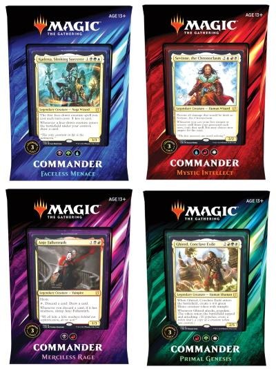 Commander 2019 Deck Set (dt.)