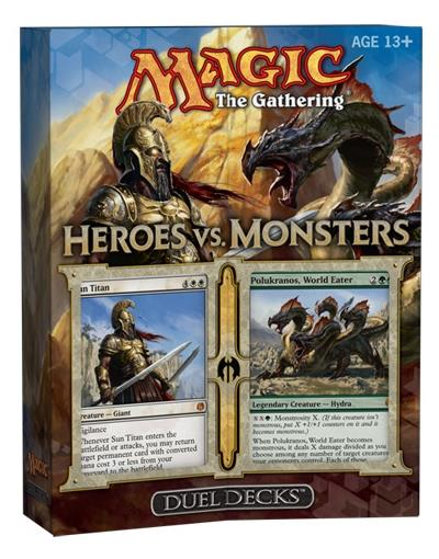 Duel Decks - Heroes vs. Monsters (engl.)