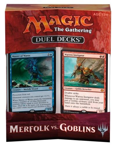 Duel Decks - Merfolk vs. Goblins (engl.)