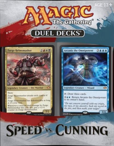 Duel Decks - Speed vs. Cunning (engl.)
