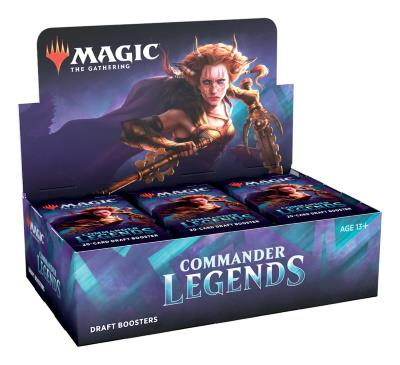 Commander Legends Draft Boosterdisplay (ENG)