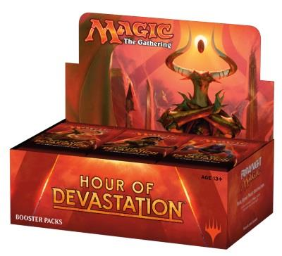 Hour of Devastation Boosterdisplay (engl.)