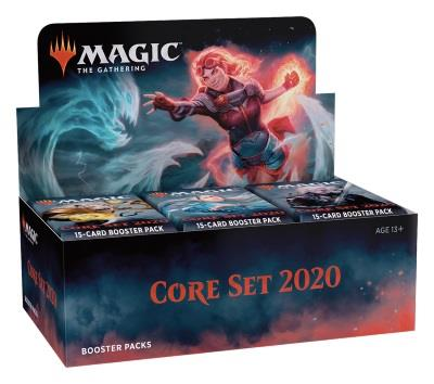 Core Set 2020 Boosterdisplay (engl.)