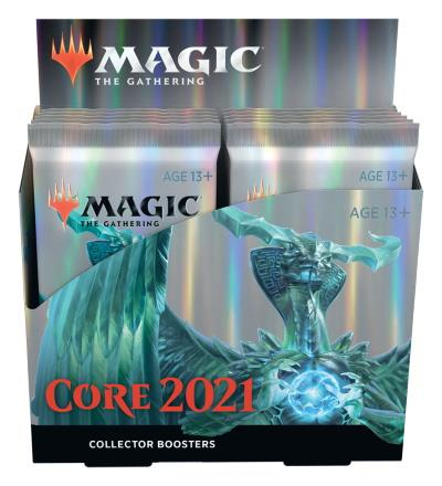 Core Set 2021 Collector Boosterdisplay (ENG)