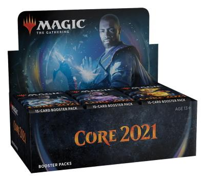 Core Set 2021 Boosterdisplay (ENG)