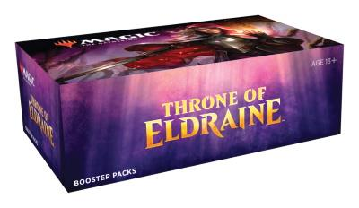 Throne of Eldraine Boosterdisplay (engl.)