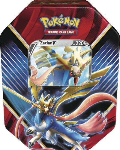 Zacian-V Tin Box #85 (DE)