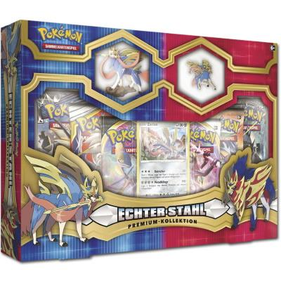 True Steel Premium Figure & Pin Collection Zacian (ENG)