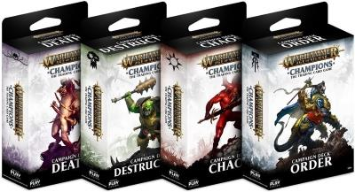 Warhammer Age of Sigmar: Champions - Campaign Deck (engl.)