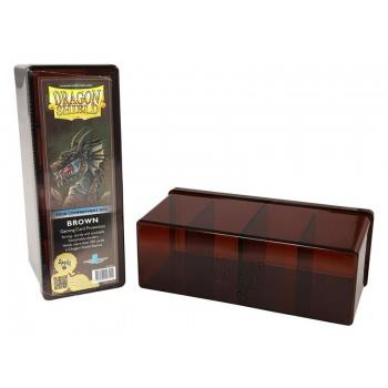Dragon Shield 4-Compartment Box Brown
