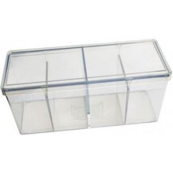 Dragon Shield 4-Compartment Box Clear