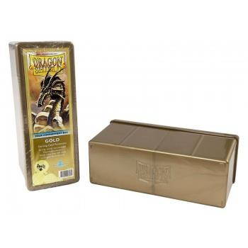 Dragon Shield 4-Compartment Box Gold