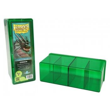 Dragon Shield 4-Compartment Box Green