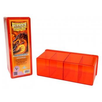 Dragon Shield 4-Compartment Box Orange