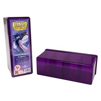 Dragon Shield 4-Compartment Box Purple