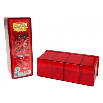 Dragon Shield 4-Compartment Box Red