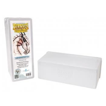 Dragon Shield 4-Compartment Box White