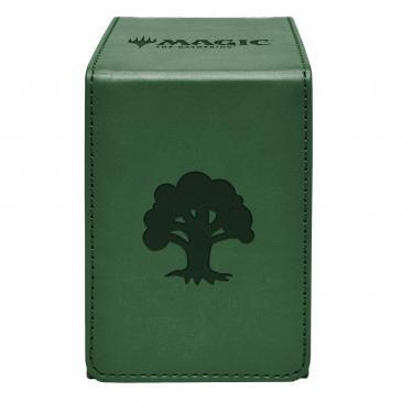 Ultra Pro Green Mana Alcove Flip Box