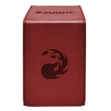 Ultra Pro Red Mana Alcove Flip Box