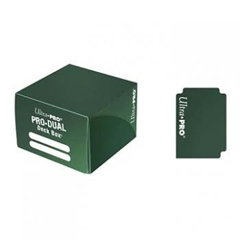 Ultra Pro PRO-DUAL Deck Box Green