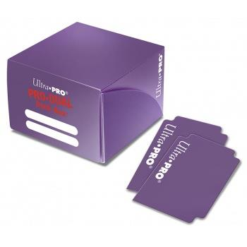 Ultra Pro PRO-DUAL Deck Box Purple
