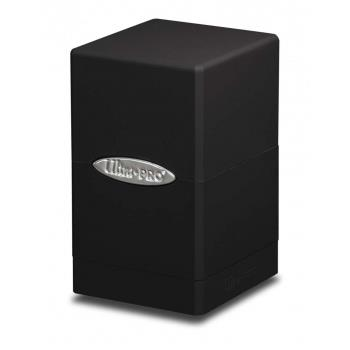 Ultra Pro Satin Tower Deck Box Black