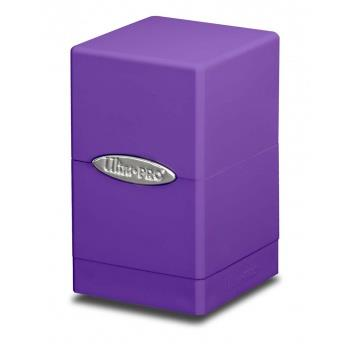 Ultra Pro Satin Tower Deck Box Purple