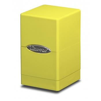 Ultra Pro Satin Tower Deck Box Yellow