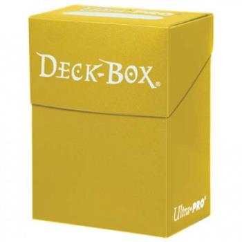 Ultra Pro Deck Box Yellow
