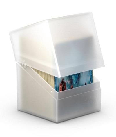 Ultimate Guard Boulder Deck Case 100+ White