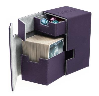 Ultimate Guard Flip'n'Tray Xenoskin Deck Case 100+ Purple
