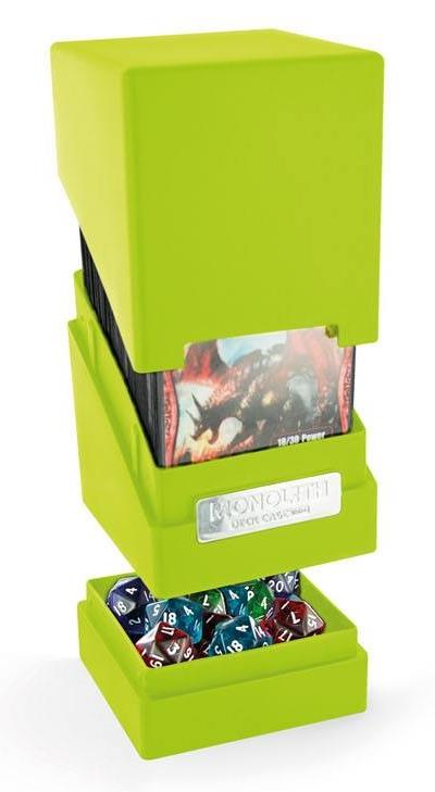Ultimate Guard Monolith Deck Case 100+ Light Green