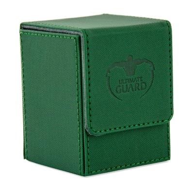 Ultimate Guard Flip Xenoskin Deck Case 100+ Green