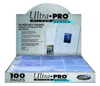 Ultra Pro 9-Pocket Pages Silver Series (100)