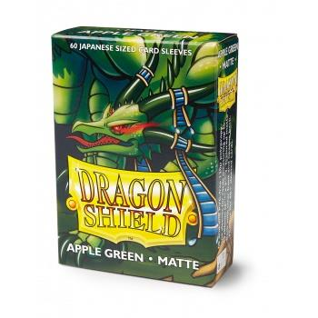 Dragon Shield Mini Card Matte Sleeves Apple Green (60)