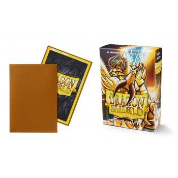 Dragon Shield Mini Card Matte Sleeves Gold (60)