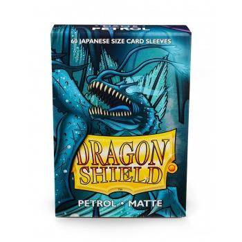 Dragon Shield Mini Card Matte Sleeves Petrol (60)