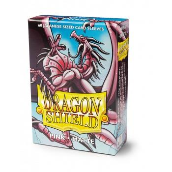 Dragon Shield Mini Card Matte Sleeves Pink (60)