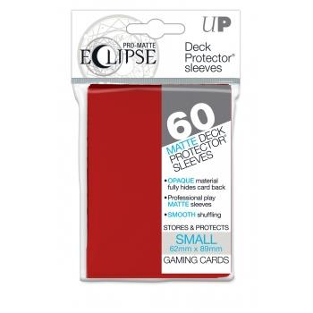 Ultra Pro Eclipse Sleeves Small Apple Red (60)