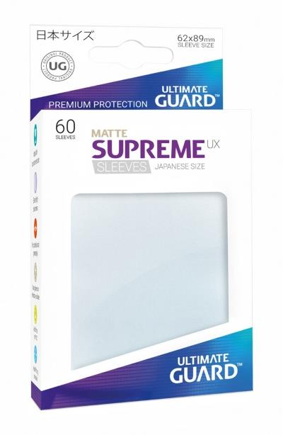 Ultimate Guard Supreme UX Sleeves Small (60)
