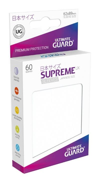 Ultimate Guard Supreme UX Sleeves Small Frosted (60)