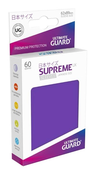 Ultimate Guard Supreme UX Sleeves Small Purple (60)