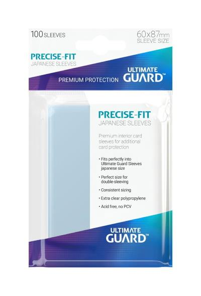 Ultimate Guard Precise-Fit Small Sleeves (100)