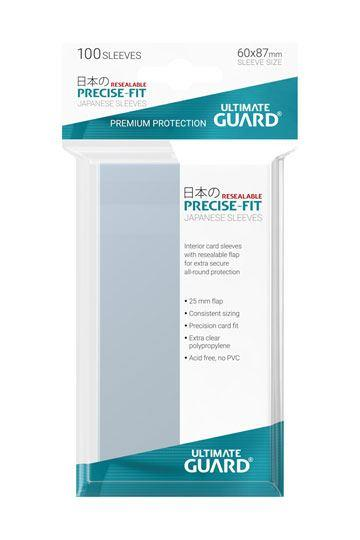 Ultimate Guard Precise-Fit Resealable Small Sleeves (100)